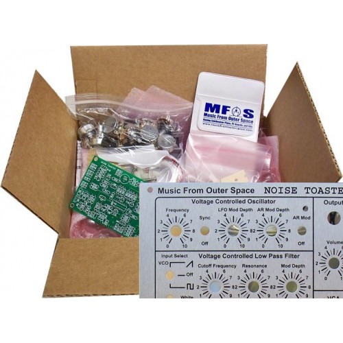 MFOS NOISE TOASTER - PCB, Parts Kit, Panel